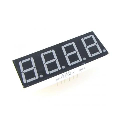 Image of a 4 digit 7 segment led display.